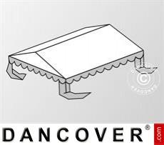 Dachplane für das Partyzelt Plus 4x6m PE, Weiß / Grau