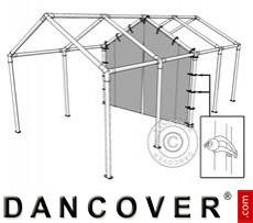 8 m (2,6) PVC-Mittelwand mit Reißverschluss für Partyzelt SEMI PRO