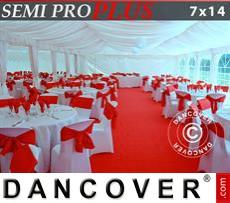 Innenausstattungspaket, Weiß, für 7x14m Festzelt SEMI PRO Plus