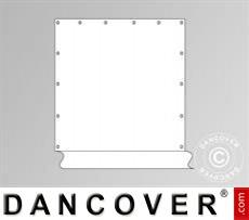 Standard-Seitenwand für Partyzelt SEMI PRO, Weiß