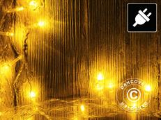 Lichterkette LED, 50m, Mehrfachfunktion, Warm weiß