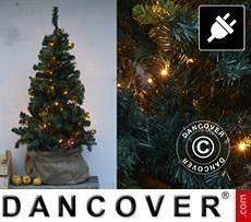 LED-Weihnachtsbaum, 1,5m, Grün/Warmweiß