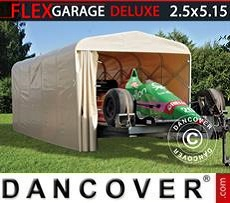 Faltgarage Tunnel (Auto), ECO, 2,5x5,15x2,15m, beige