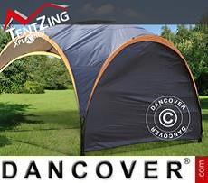 Seitenwand für das Campingzelt, TentZing®, dunkelgrau