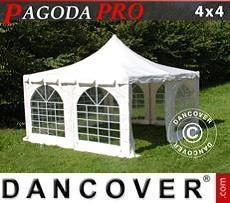 Partyzelt Pagoda PRO 4x4m, PVC