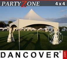 Partyzelte Pagodenzelt PartyZone 4x4 m PVC