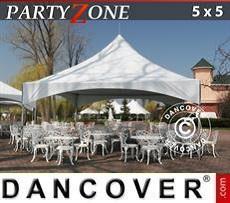 Partyzelte Pagodenzelt PartyZone 5x5 m PVC