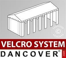 Dachplane mit Klettverschluss für Exclusive-Partyzelt 6x12m, weiß