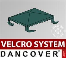 Dachplane für Partyzelt UNICO, PVC/Polyester, 3x3m, dunkelgrün