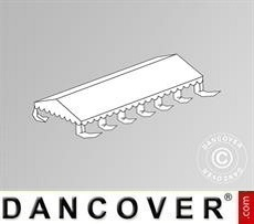 Dachplane für das Partyzelt Exclusive 6x12m PVC, Weiß