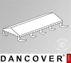 Dachplane für das Partyzelt Original 5x8m PVC, Weiß