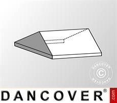 4m Dachplane mit Giebel für Exclusive CombiTents®, 6x4m, PVC, weiß