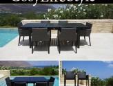 Mesas de comedor y sillas de comedor para cenas cómodas y acogedoras
