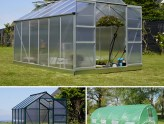 Invernaderos de túnel e invernaderos de policarbonato
