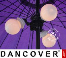Luz para parasol en forma de globo, Pharaoh
