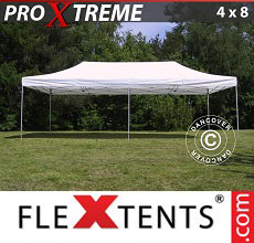 Carpa plegable FleXtents Xtreme 4x8m Blanco
