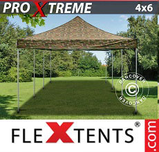 Carpa plegable FleXtents Xtreme 4x6m Camuflaje
