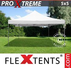 Carpa plegable FleXtents Xtreme 5x5m Blanco
