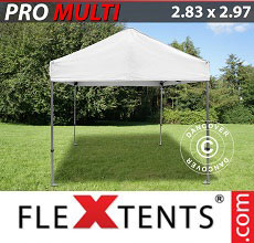 Carpa plegable FleXtents Multi 2,83x2,97m Blanco
