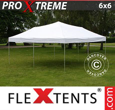 Carpa plegable FleXtents Xtreme 6x6m Blanco