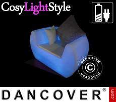 Diván LED, Chill, 117x88x68cm