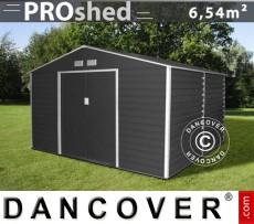 Caseta de jardin 2,77x2,55x1,98m ProShed, Antracita