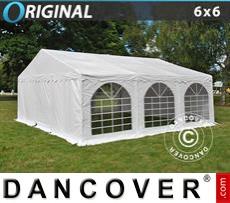 Carpa para fiestas Original 6x6m PVC, Blanco