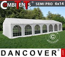 Carpa para fiestas, SEMI PRO Plus CombiTents® 6x14m, 5-i-1