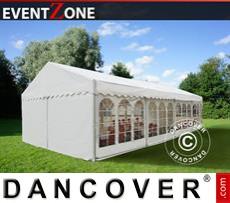 Carpa para fiestaseventos profesional EventZone 6x12m PVC, Blanco