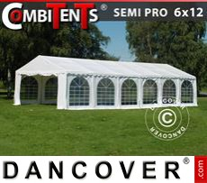 Carpa para fiestas, SEMI PRO Plus CombiTents® 6x12m 4 en 1