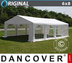 Carpa para fiestas Original 6x8m PVC, Blanco