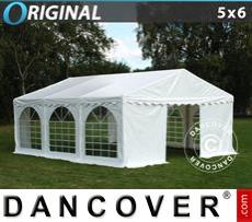 Carpa para fiestas Original 5x6m PVC, Blanco
