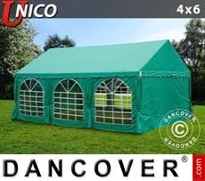 Carpa para fiestas UNICO 4x6m, Verde oscuro