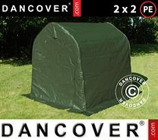 Carpa de almacenamiento PRO 2x2x2m PE, Verde