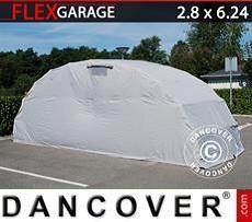 Garaje plegable (coche), 2,8x6,24x2,3m, Gris