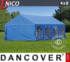 Carpas para fiestas UNICO 4x8m, Azul