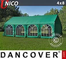 Carpas para fiestas UNICO 4x8m, Verde oscuro