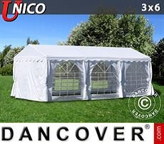 Carpas para fiestas UNICO 3x6m, Blanco