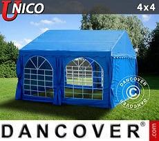 Carpas para fiestas UNICO 4x4m, Azul
