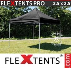 Carpa plegable FleXtents PRO 2,5x2,5m Negro
