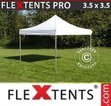 Carpa plegable FleXtents PRO 3,5x3,5m Blanco