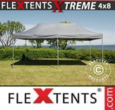Carpa plegable FleXtents Xtreme 4x8m Gris