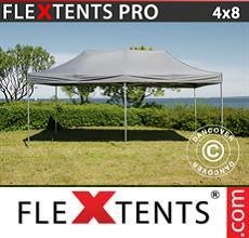 Carpa plegable FleXtents PRO 4x8m Gris
