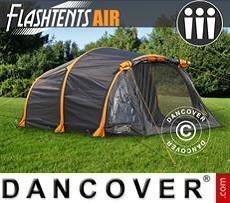 Tienda de campaña FlashTents® Air, 3 personas, Naranja/Gris Oscuro