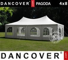 Pagoda Partyzone 4x8m, White
