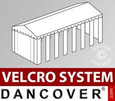 Cubierta para tejado con velcro para carpa SEMI PRO Plus CombiTents® de 6x14m,...