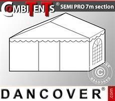 Extensión de tramo final de 2m para CombiTent® Semi PRO, 7x2m, PVC, Blanco