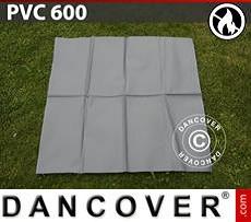 PVC retardante de fuego para reparación de carpa de almacenamiento, 600g/m²,...