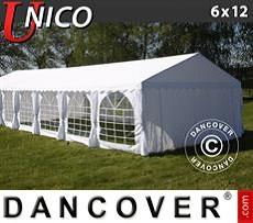 Carpa para fiestas UNICO 6x12m, Blanco