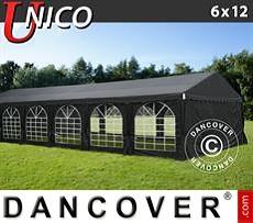 Carpa para fiestas UNICO 6x12m, Negro
